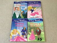 Igloo books - I Can Read Cinderella Beauty & The Beast Rapunzel Sleeping Beauty