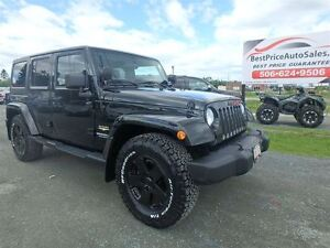 2012 Jeep WRANGLER UNLIMITED SAHARA! UNLIMITED! BLACKED OUT!