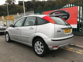 2003 (53 reg) Ford Focus 1.6 i 16v Ghia 5dr Hatchback Petrol 5 Speed Manual