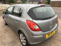 Vauxhall Corsa Excite 2011, semi-automatic, low miles and new MOT