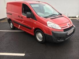 Citroen Dispatch 1.6 Hdi 2009 09 Reg FSH 1 Owner 6 DOORS ply lined any inspection clean van NO VAT