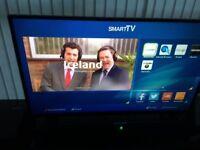 """43"""" flat screen smart internet tv"""