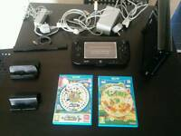 Nintendo Wii U 32GB Premium Pack (No Box) with 2 games