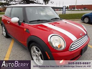 2008 MINI Cooper Coupe 6 Spd Pano *** CERT & E-TEST *** $7,999
