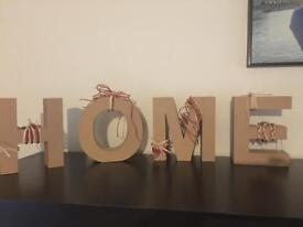 HOME decor sign. Shabby chic. Great for entryways. Open to offers