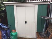 Metal garden shed 6 x 4