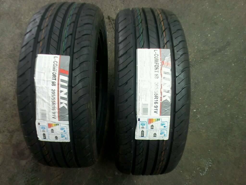 Tyres 205 / 55 / 16