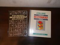 DIY books x 2