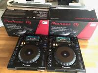 Pioneer CDJ 900 Nexus NXS Pair Professional DJ Decks As New Boxed CDJ 2000 Nexus DJM 900 XDJ 1000