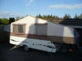 2010 pennine pathfinder camper trailer 6 berth plus full annex and skirts in excellent condition