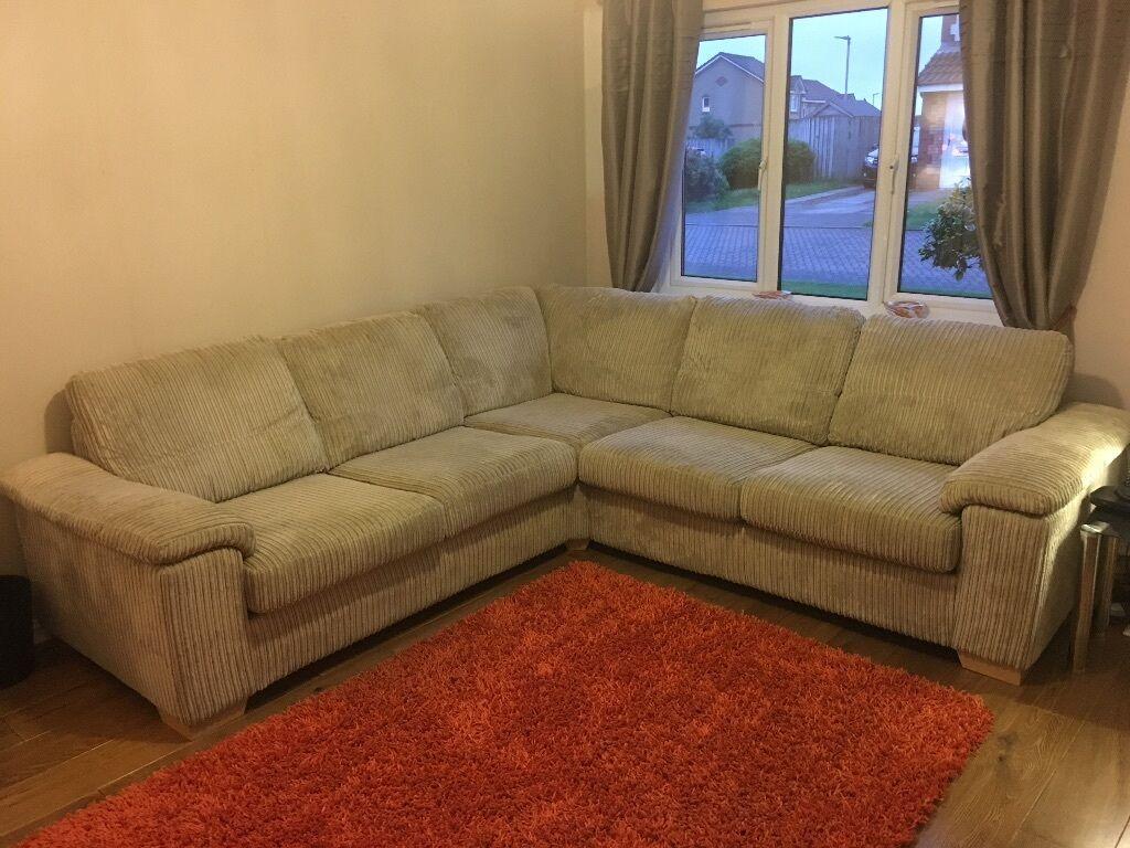 Beige DFS Riva Corner Sofa 2