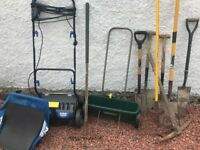 Macallister lawn rake and scarifier
