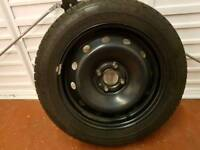 Renault Megane Scenic MK1 Spare Wheel and Tyre