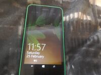 A mobile phone Nokia 635 as new on ee net and payg