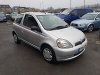 TOYOTA YARIS 1.3 PETROL AUTOMATIC 3DR++12 MONTH MOT++FULLY SERVICED++BARGAIN ...