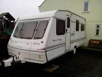 Caravan Bailey 4 birth