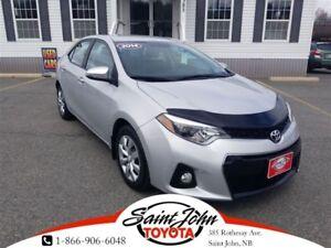 2014 Toyota Corolla S $148.17 BIWEEKLY!!!