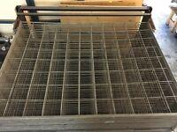 Artist's Metal Dry Rack - Great for Screen Printers!