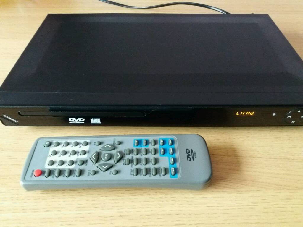 HDMI DVD PLAYER and remote control
