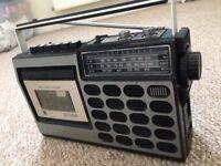 National Panasonic Cassette Radio from 1975 (RQ-S517s)