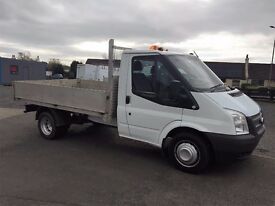 13 Ford Transit 350 MWB Alloy Dropside Pick Up