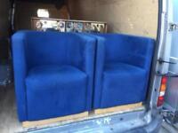 Tub chairs x2