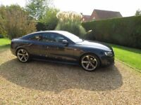 Audi A5 S-Line Black edition 2lt TDI £12500 with Full Audi service history all usual extras.
