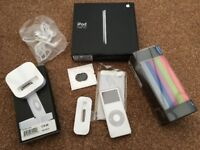 Ipod Nano 2gb with extras mp3 player