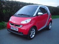 smart fortwo pulse mhd auto 1.0 low mileage one lady owner FSH