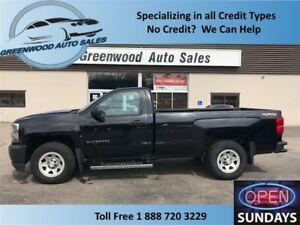 2016 Chevrolet Silverado 1500 4X4! 8 FOOT BOX! HARD FIND!