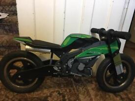 Wooden Kawasaki balance bike