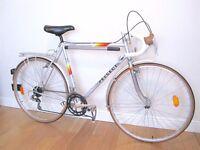 57cm Peugeot Dordogne Reynolds 531 audax/touring/l'erioca vintage bike