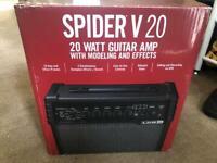 SPIDER V20 GUITAR AMP 20 WATT