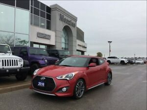 2016 Hyundai Veloster Turbo, Navi, Bluetooth, Heat Seats, Clean