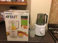 Philips avent steam, flip, blend and serve