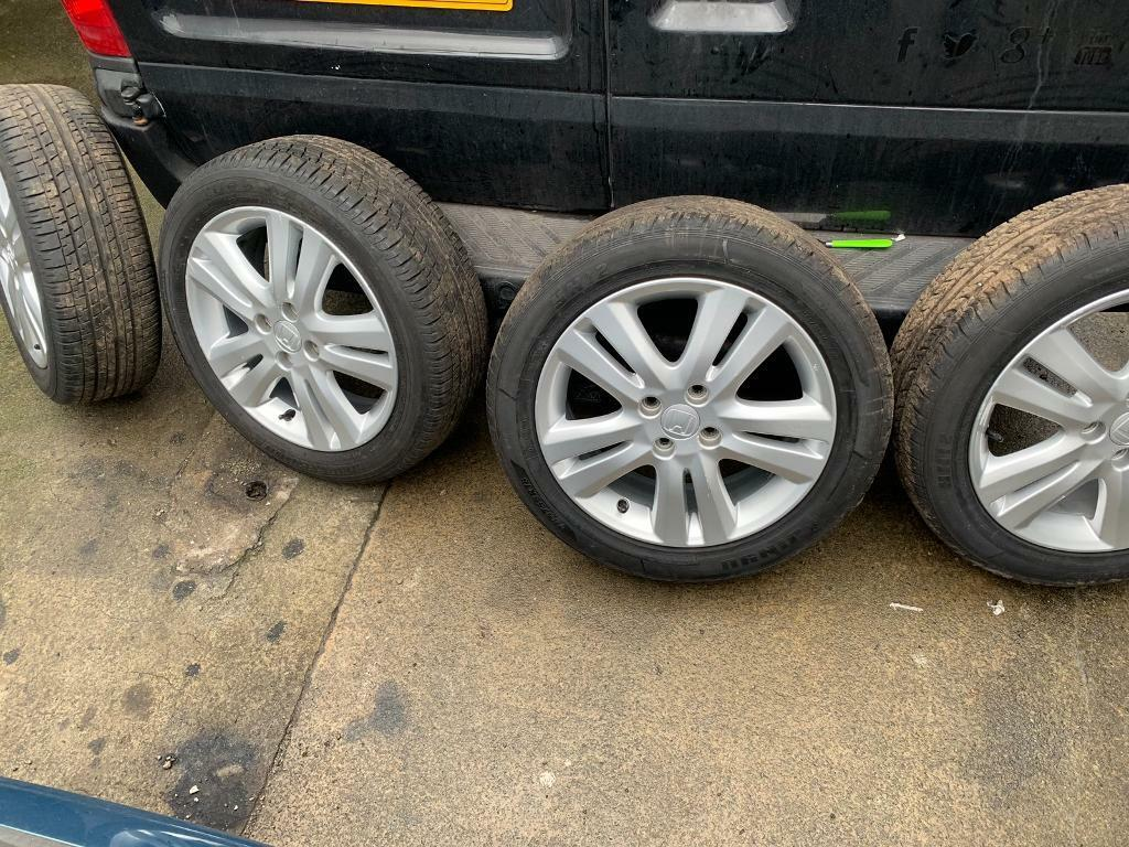 2010 Honda Jazz Alloys 4x100 In Liverpool Merseyside Gumtree