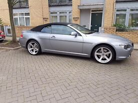 BMW 630i Convertible - Low Miles - Good Engine - 630 - 6 series E64 - First To See Will Buy