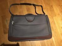 Samsonite business luggage in grey
