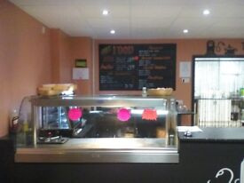 Sandwich shop with A3 licence to rent