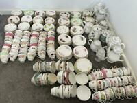 Fine bone china job lot- perfect for afternoon tea , wedding or vintage business