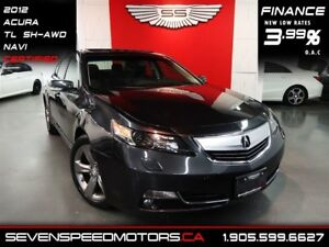 2012 Acura TL SH-AWD TECH PKG|CERTIFIED|1YR FREE WARRANTY