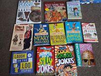 Boys book & comic bundle
