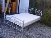 CAN DELIVER - DOUBLE BED WITH MATTRESS IN GREAT CONDITION
