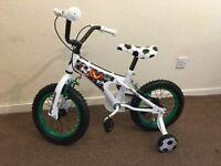 Kids 14 Inch Bike with Stabilizers