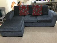 3 Seater Corner Sofa and matching single chair