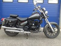 2014 Daelim vl 125 daystar 125cc custom cruiser , hpi clear just serviced