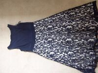 Size 14 Blue Eliza J Dress