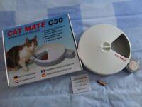 Catmate C50 Automatic Pet Feeder.