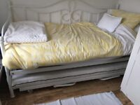 Pull out under bed trundle and mattress