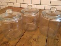 Glasses jars